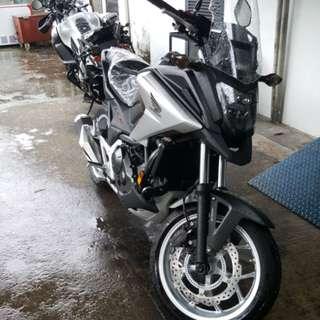 HONDA NC750XA BLACK
