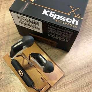 Klipsch X6i Black for sale + Freebies!!