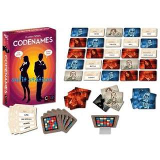 CODE NAMES FAMILY FUN CARD GAMES