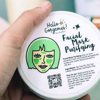 Hello Gorgeous Purifying Facial Mask