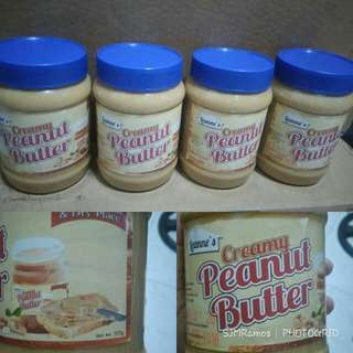 LEANNE'S PEANUT BUTTER FOR SALE!!!
