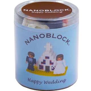 全新日版 Nano  Block - Happy Wedding (over 100PC) made in Japan (ML-025)