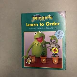 Preschool Workbook - Muppets
