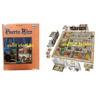 PUERTO RICO FAMILY FUN BOARD GROUP GAMES