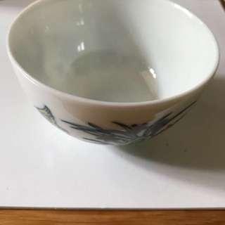 斗彩鳮缸杯