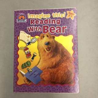 Preschool Workbook - Reading with Bear
