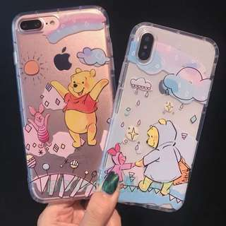 Winnie the Pooh and piglet phone casing