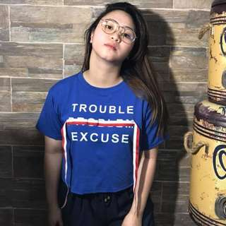 Trouble Excuse Top