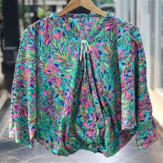 Blouse tosca pink