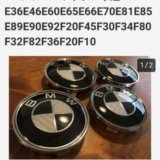 網購自日本BMW WHEEL CAP 1SET