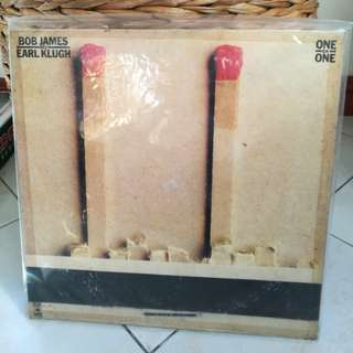 BOB JAMES AND EARL KLUGH ONE ON ONE VG