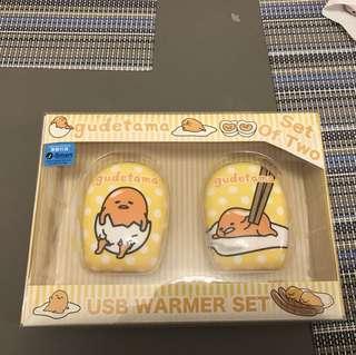 Gudetama 蛋黃哥USB hand warmer(兩個)