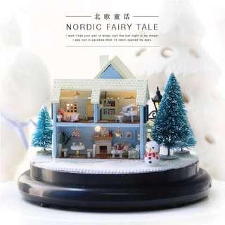 北歐童話DIY模型材料包 手作 手工