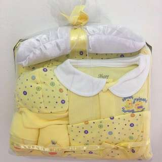 Retail $29.90 Similar Set! Happy Time 5 Pieces Baby Gift Set (Yellow Color)