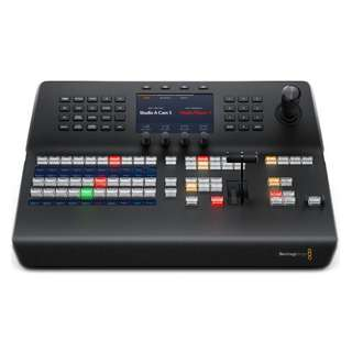Blackmagic Design ATEM 1 M/E Advanced Panel. The ATEM 1 M/E Advanced Panel features the latest broadcast technology, smooth professional buttons, knobs, T-Bar fader and joystick, a built in LCD and more.