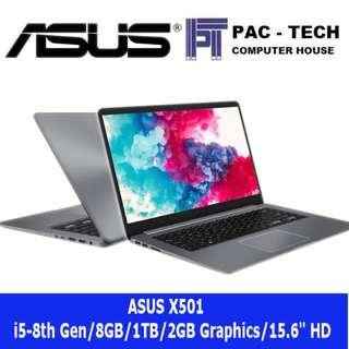 [Brand New]Asus X510/15.6Inch/i5-8th Generation/2GB Graphics/8GB RAM/1TB HDD/1 Year International Asus Warranty