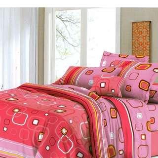 Linen C-60 3pcs. Set Fittted Bedsheet
