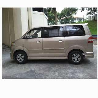 Suzuki apv for 7 seater