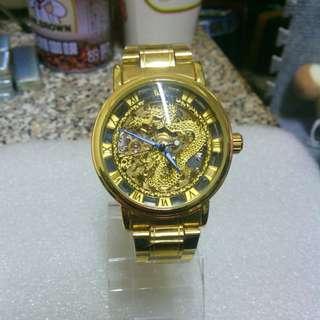 🚚 龍形全鏤空機械錶 Mechanical watch