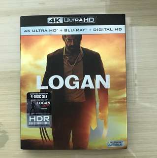 4K Ultra HD +Blu-Ray+Digital HD (Logan)