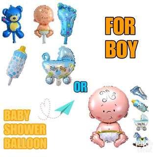 BALLOON FOR BABY SHOWER (BOY)