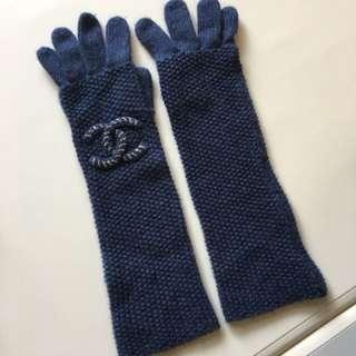Chanel Gloves, 100% cashmere