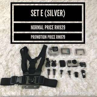 GoPro Hero 4 Silver (Set E)