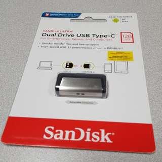 SANDISK ULTRA Dual Drive USB Type-C 128 GB
