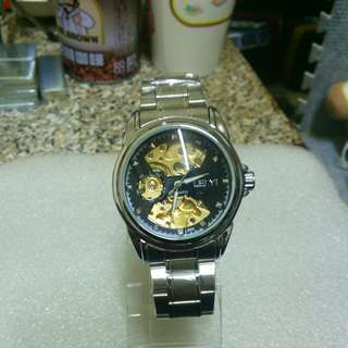 🚚 LEIYI全鏤空機械錶 Mechanical watch