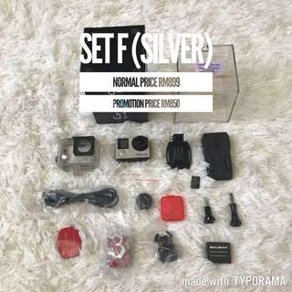GoPro Hero 4 Silver (Set F)