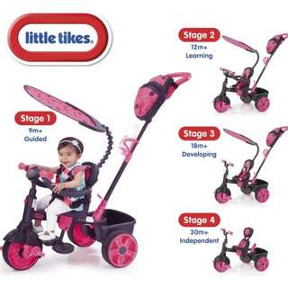 Bicycle / tricycle - Little Tikes - Pink