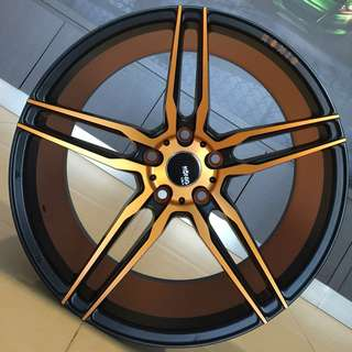 Car Rim Sticker Detailing