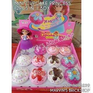 Latest Mini Cupcake Princess Doll 12pcs in 1 Box