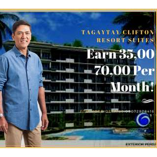 "Condotel in Tagaytay ""TAGAYTAY CLIFTON RESORT SUITES"""
