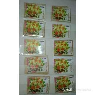 perangko ucapan selamat 2001