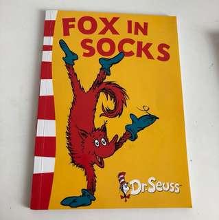 Dr Seuss Fox in Socks
