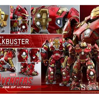 In Stock Hot Toys Hulkbuster collected from Action City