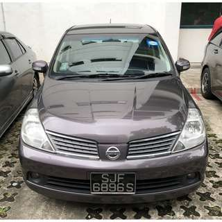 $48/day Nissan Latio 1.5A