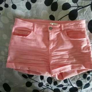H&M Soft Pink Shorts / Celana Pendek H&M