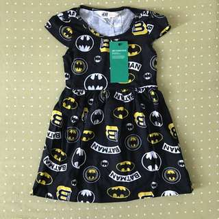 Dress H&M batman prints