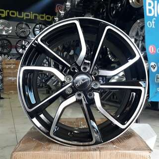 Velg mobil racing HSR ring 16 hole 4x100/114
