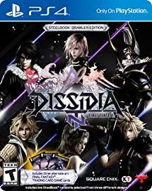 Selling Dissidia NT steel book brawler edition (without cards)