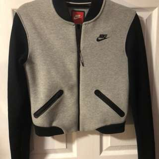 Nike tech fleece bomber jacket