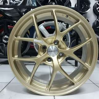 Juak velg mobil RACING HSR ring 17 hole 4x100