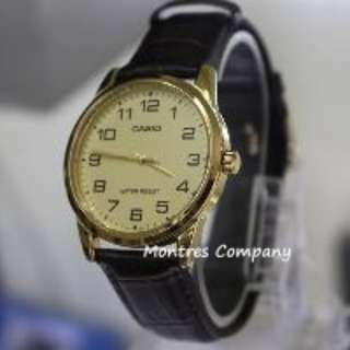 Montres Company香港註冊公司(25年老店) CASIO standard MTP-V001 MTP-V001GL MTP-V001GL-9 MTP-V001GL-9B有現貨 MTPV001 MTPV001GL MTPV001GL9
