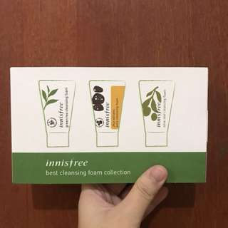 Innisfree Cleansing Foam Set