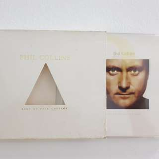 'Best of Phil Collins' + 1 free 'The unmistakable sound of Coca-Cola' cds for sale