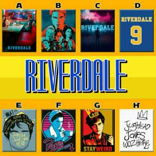 Riverdale Archie Jughead Veronica Artwork Poster Ref Magnet Display Collectible
