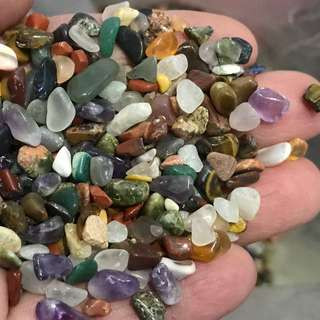 Small mini gemstones Polished (Good Quality)
