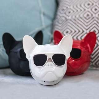 Pug Glossy White Speakers